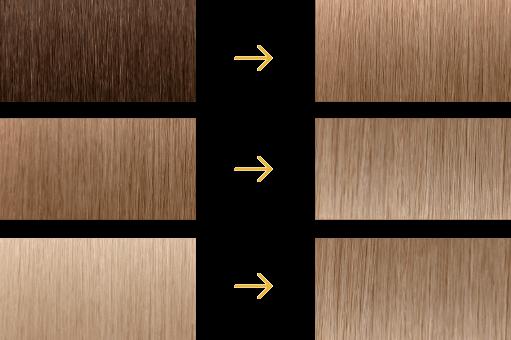 Antes y después con 9N